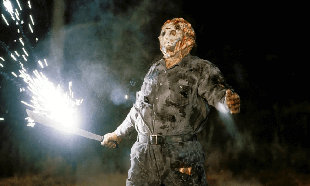 電影《13 號星期五》殺人狂傑森。