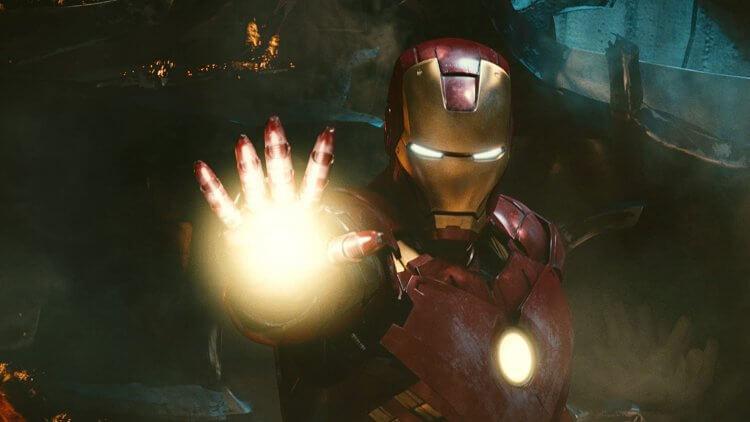 小勞勃道尼主演漫威超級英雄電影《鋼鐵人 2》劇照。