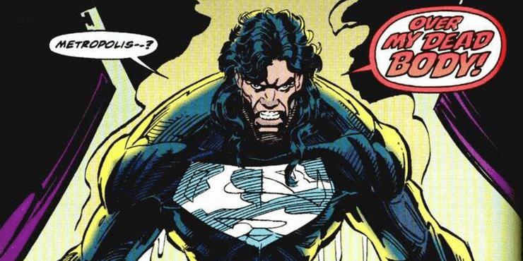漫畫中出現的黑衣超人。