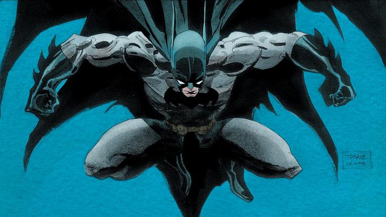 《蝙蝠俠:漫長萬聖節》漫畫。