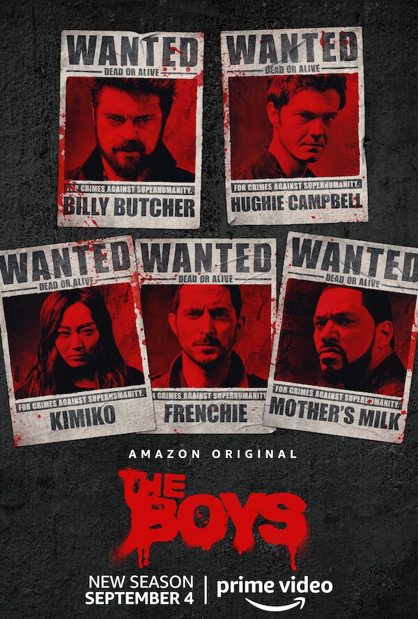《黑袍糾察隊》第二季海報。