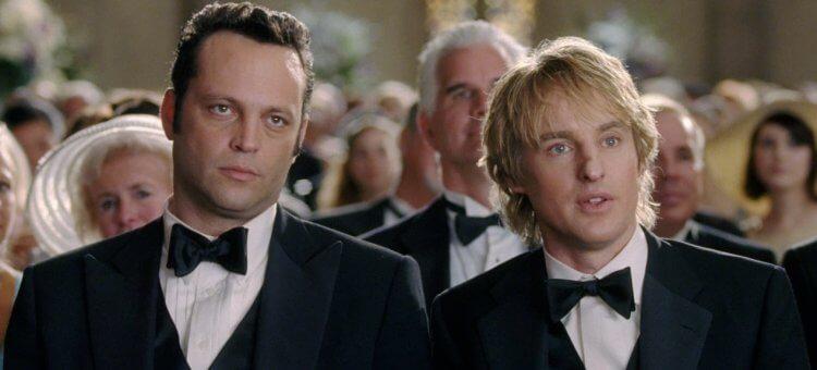 喜劇電影《婚禮終結者》文斯沃恩、歐文威爾森。