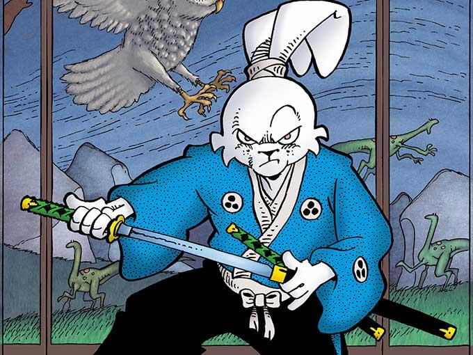 阪井正彥《兔用心棒》漫畫。