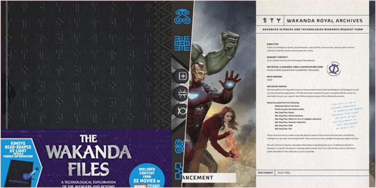 漫威宇宙書籍《瓦干達檔案》。