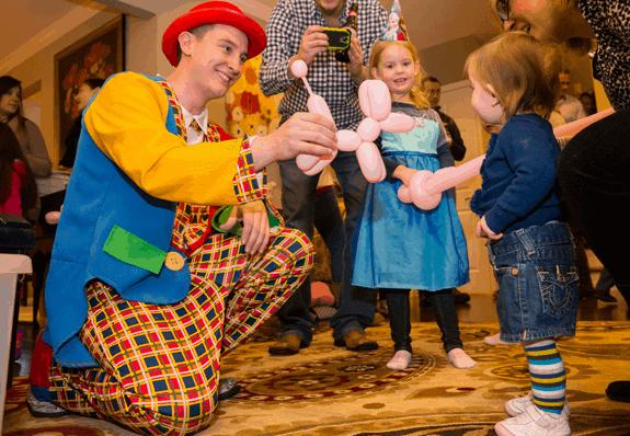 現實中的派對小丑。
