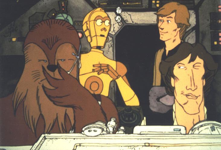 《星際大戰:假日特別節目》〈忠心武技的故事〉。