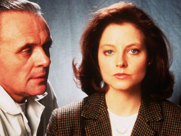 主演《沉默的羔羊》的茱蒂佛斯特、安東尼霍普金斯。