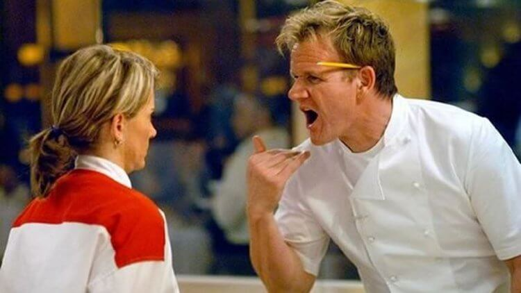 Netflix 實境秀《地獄廚房》劇照。