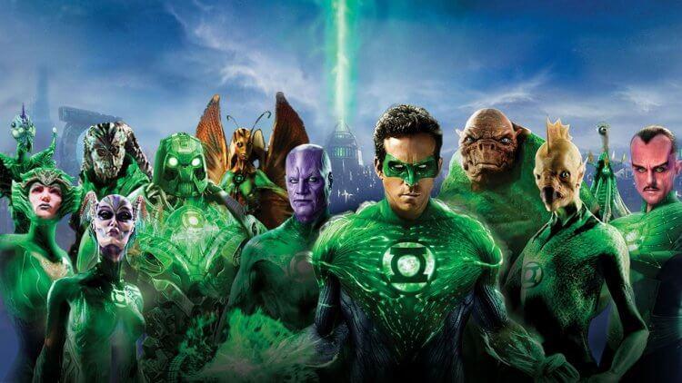 2011 年 DC 電影《綠光戰警》。