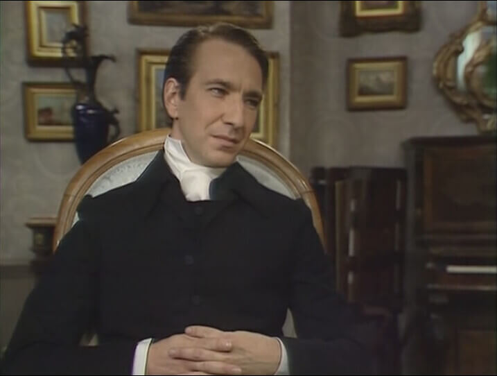 艾倫瑞克曼在影集《巴切斯特傳》中飾演牧師歐巴迪安石洛卜。