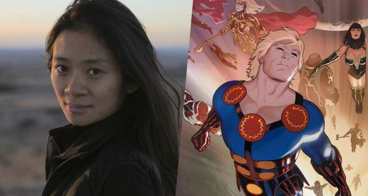 《游牧人生》導演趙婷執導的漫威電影《永恆族》即將推出。