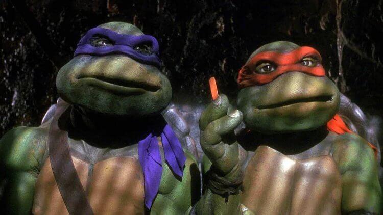 《忍者龜》真人電影。