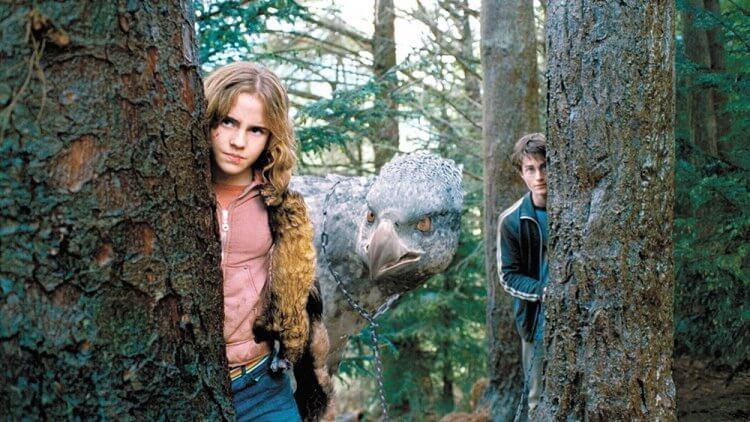 《哈利波特》系列劇照。
