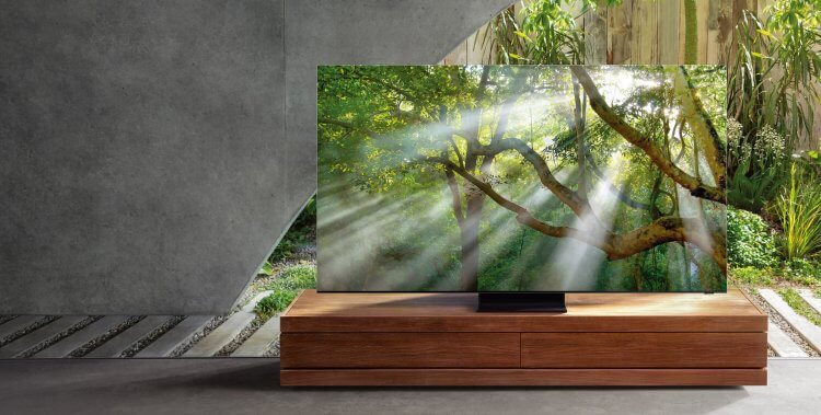 串流影音正夯,追劇用智慧型電視介紹:Samsung QLED 8K 量子電視。