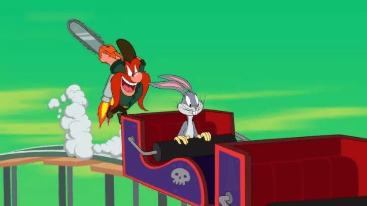 樂一通經典卡通人物:兔寶寶、火爆山姆。