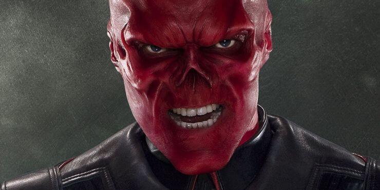 漫威宇宙人物「紅骷髏」。