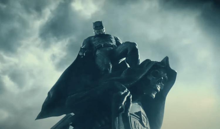 《正義聯盟》班艾佛列克飾演的蝙蝠俠。