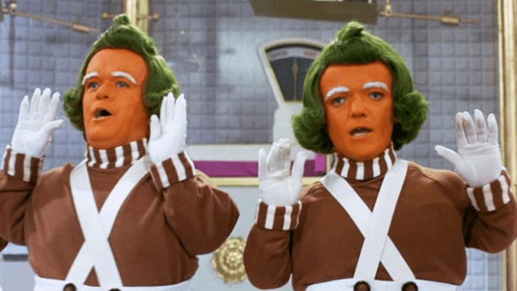 《巧克力冒險工廠》 Oompa-Loompa 。
