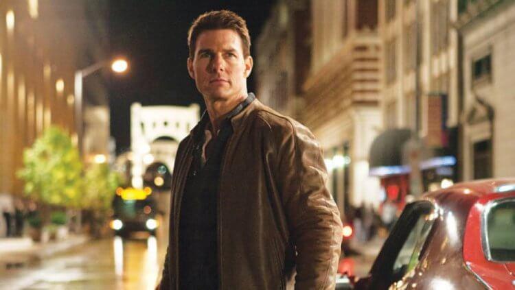 小說改編動作電影《神隱任務》中的湯姆克魯斯。