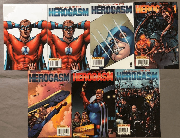 《黑袍糾察隊》漫畫中的獨立篇章〈Herogasm〉即將於真人美劇影集版推出。