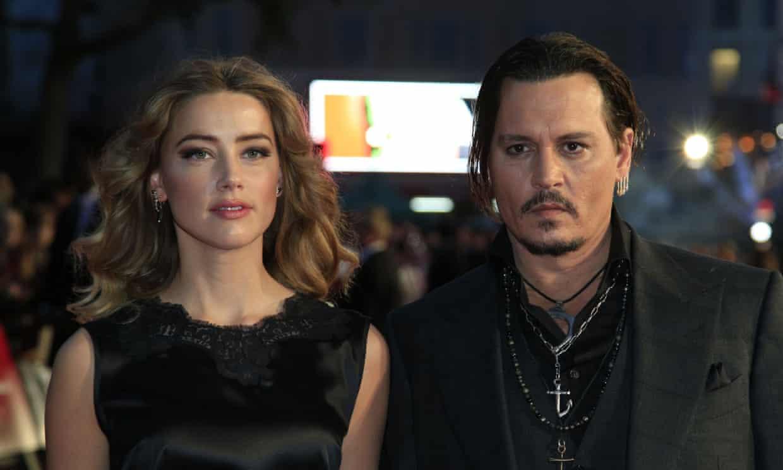 戴普與前妻赫德。