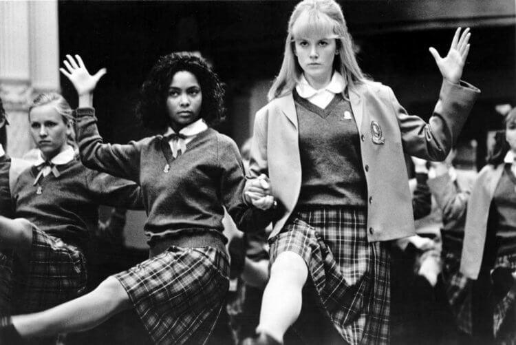 《情挑玉女心》電影中的譚蒂紐頓與妮可基嫚。