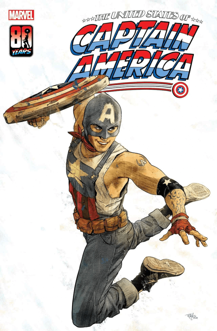 《The United States of Captain America》漫畫系列。