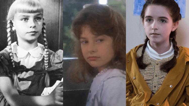 1956、1985、2018 年三版《壞種》。