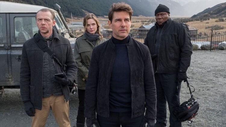 湯姆克魯斯領軍的動作系列電影《不可能的任務》劇照。
