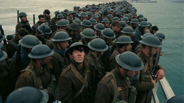 諾蘭導演電影《敦克爾克大行動》電影劇照。