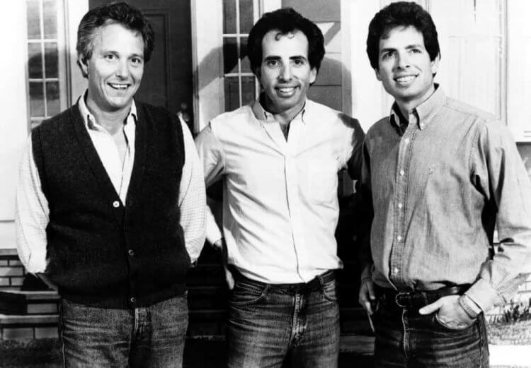 ZAZ:(由左至右)吉姆、傑瑞與大衛