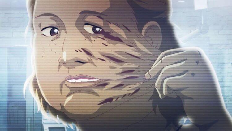 韓國漫畫改編動畫電影《整容液》電影劇照。