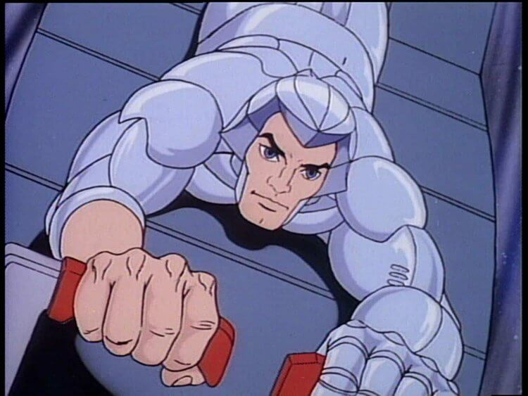 美國經典卡通影集《銀鷹戰士》。
