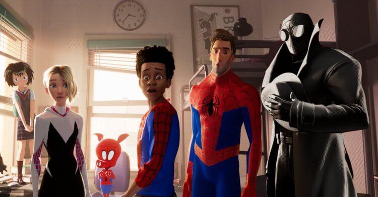 《蜘蛛人:新宇宙》電影劇照。