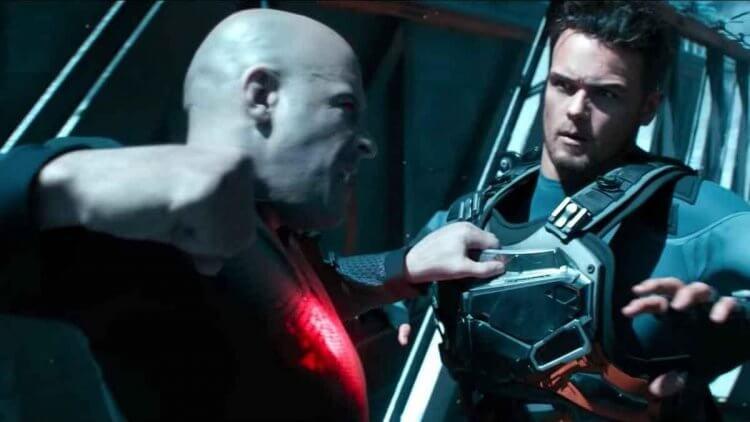 馮迪索主演的勇士漫畫改編超級英雄電影《血衛》槍戰不多,更多的是展現馮迪索好身手的拳拳到肉動作戲。