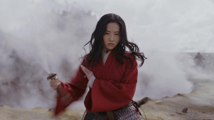 《花木蘭》由劉亦菲擔綱主角。