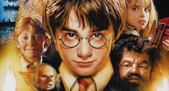 電影《哈利波特:神秘的魔法石》。