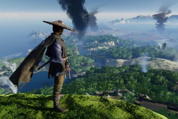 《對馬戰鬼》遊戲畫面。