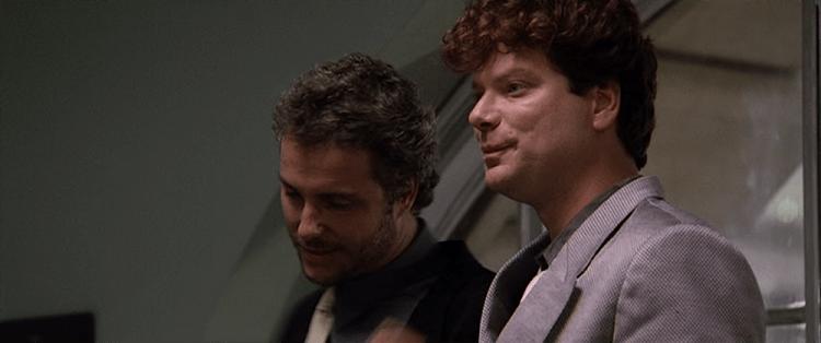 史帝芬朗在《1987 大懸案》的形象與近年判若兩人。