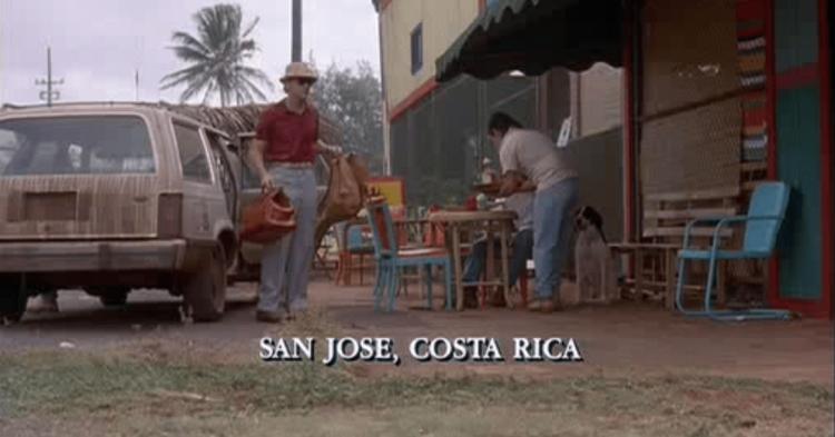 《侏羅紀公園》的主要場景設定在哥斯大黎加。
