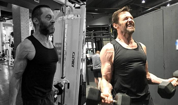 休傑克曼因為金鋼狼的角色,長時間保持健身的習慣。