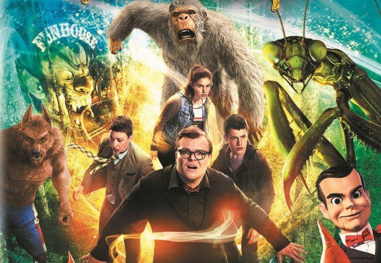 尼爾 H 莫里茲監製改編自《雞皮疙瘩》童書的電影《怪物遊戲》後,將繼續製作《雞皮疙瘩》真人影集。
