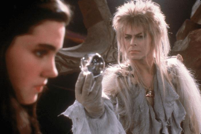 《魔王迷宮》大衛鮑伊、珍妮佛康納莉。