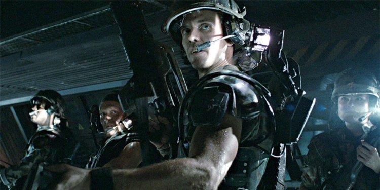 詹姆斯卡麥隆執導的《異形2》出現的軍人。