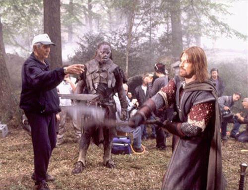 《魔戒》電影幕後花絮:好萊塢劍神鮑勃安德森指導西恩賓劍術。