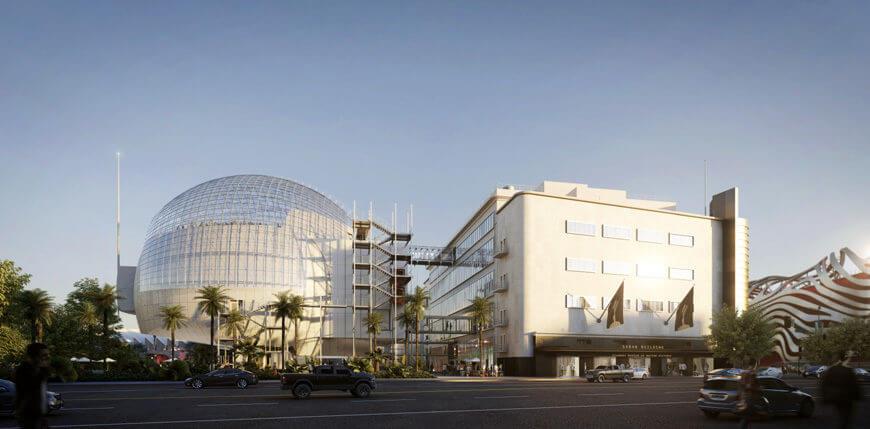 奧斯卡電影博物館。