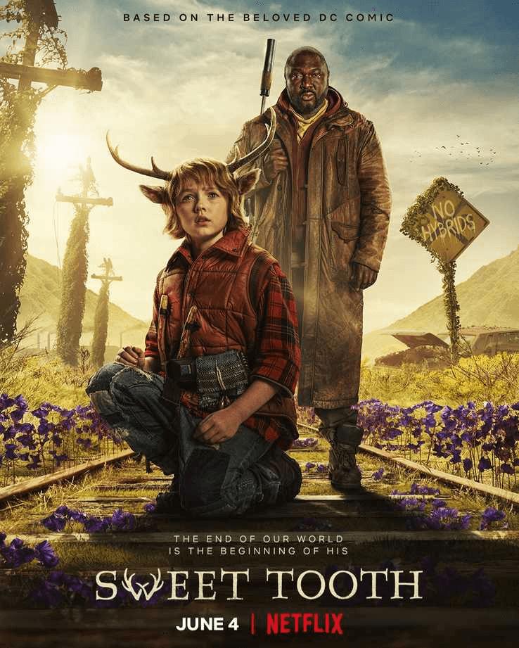 Netflix 影集《Sweet Tooth:鹿角男孩》。