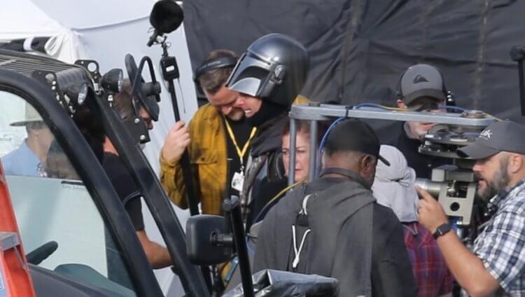 《曼達洛人》第二季片場側拍
