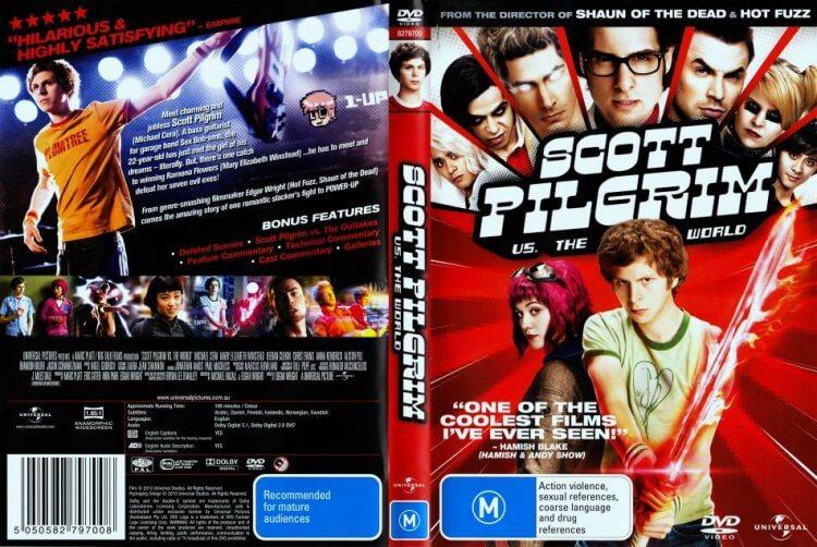 電影《歪小子史考特》DVD。