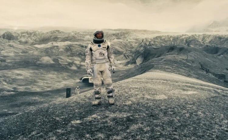 《星際效應》電影劇照。
